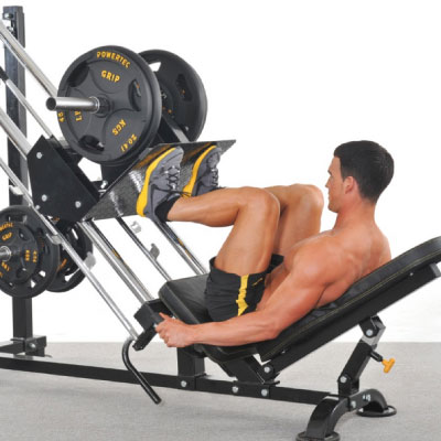 Lår-styrketræningsøvelse
