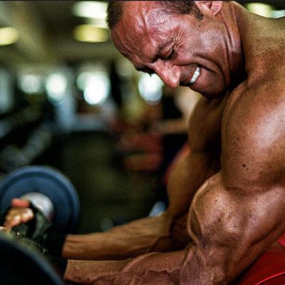 biceps-styrketræningsøvelse