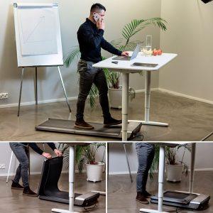 Anvend et gåbånd til kontoret og/eller skrivebordet