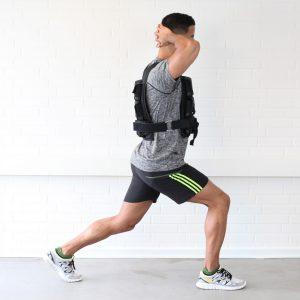 Tilføj ekstra vægt til dine øvelser ved brug af en vægtvest