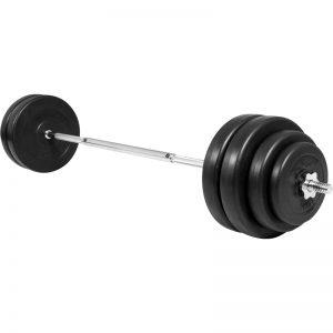 Spar penge og træn hele kroppen med et vægtstangssæt