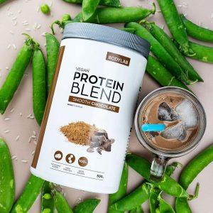 Der findes mange typer af vegansk proteinpulver, heriblandt ærteprotein