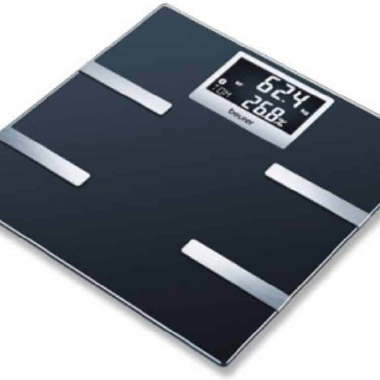Mørkegrå kropsanalysevægt
