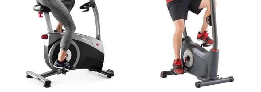 Motionscykel i brug
