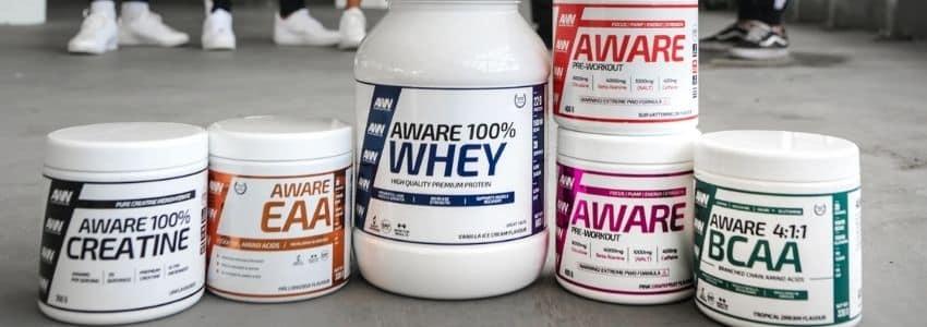 Forskellige typer proteinpulver