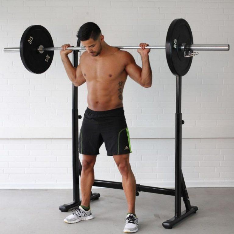 Simpelt squat rack