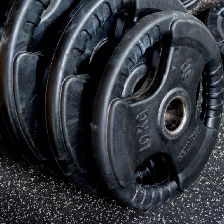 Sorte vægtskiver